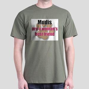 Mudis woman's best friend Dark T-Shirt