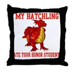 My Hatchling... Throw Pillow