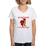 My Hatchling... Women's V-Neck T-Shirt