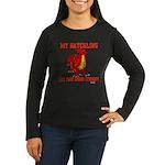 My Hatchling... Women's Long Sleeve Dark T-Shirt