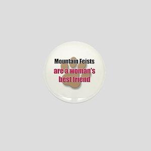 Mountain Feists woman's best friend Mini Button