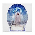 Winter Angel Tile Coaster