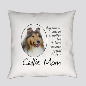Collie Mom Everyday Pillow