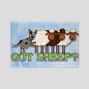 got sheep? Rectangle Magnet