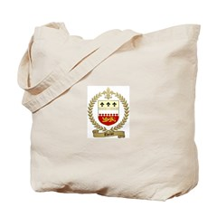 THERIOT Family Crest Tote Bag