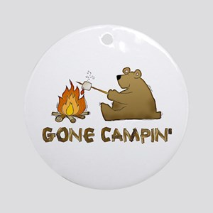 Gone Campin' Ornament (Round)