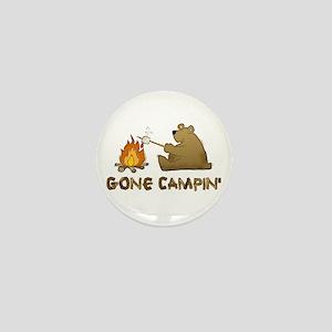 Gone Campin' Mini Button