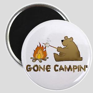 Gone Campin' Magnet