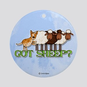 got sheep? Ornament (Round)