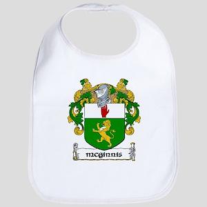 McGinnis Coat of Arms Bib