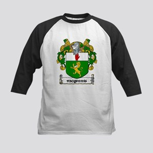 McGinnis Coat of Arms Kids Baseball Jersey