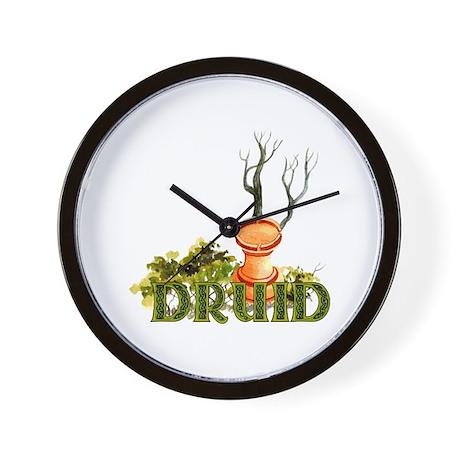 Pagan Chess Rook Wall Clock