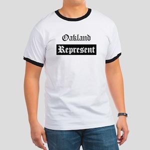 Oakland - Represent Ringer T