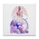 Angel of Peace Tile Coaster