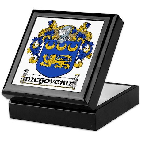 McGovern Coat of Arms Keepsake Box