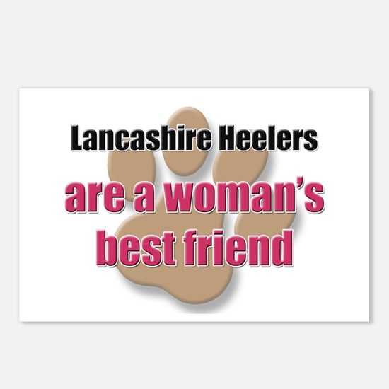Lancashire Heelers woman's best friend Postcards (
