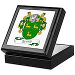 Troup Family Crest Keepsake Box