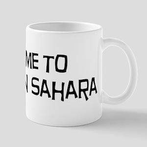 Take me to Western Sahara Mug