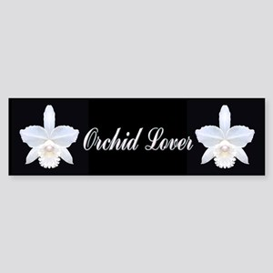 Orchid Lover Bumper Sticker