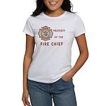 Fire Chief Property Women's T-Shirt