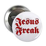 Jesus Freak Christian Button