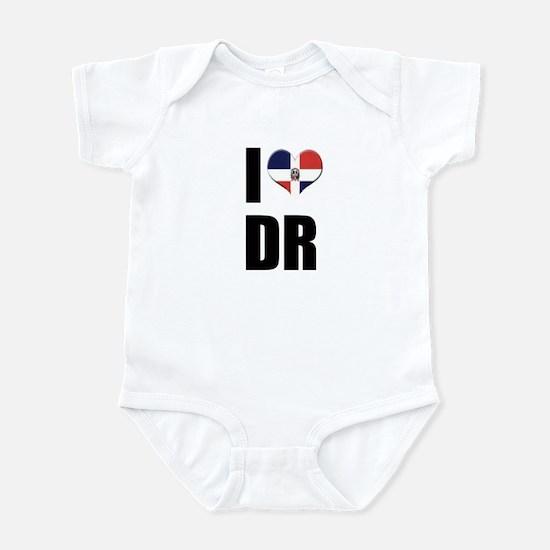 I heart DR Infant Bodysuit