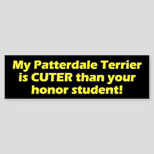 Cuter Patterdale Terrier Bumper Sticker