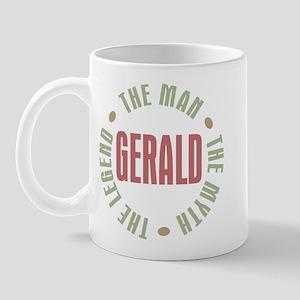 Gerald Man Myth Legend Mug