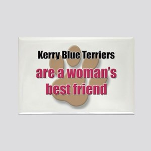 Kerry Blue Terriers woman's best friend Rectangle