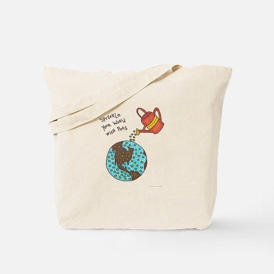 Unique Positive message Tote Bag