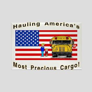 Most Precious Cargo Rectangle Magnet