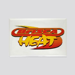 BriSCA Heat Rectangle Magnet