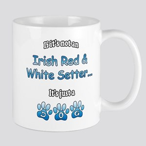Red & White Not Mug