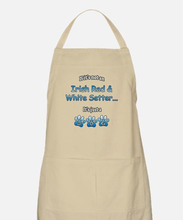 Red & White Not BBQ Apron