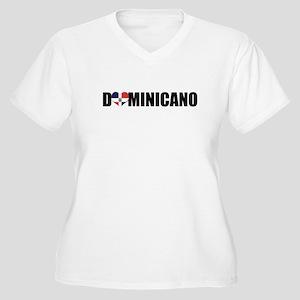 DOMINICANO Women's Plus Size V-Neck T-Shirt