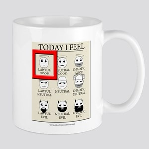 Today I Feel - Lawful Good Mug