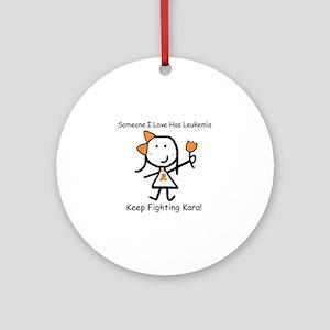Leukemia - Kara Ornament (Round)