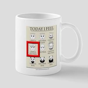 Today I Feel - Lawful Neutral Mug