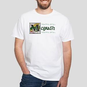 McGrath Celtic Dragon White T-Shirt