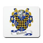 Waddell Family Crest Mousepad