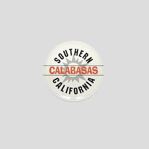 Calabasas California Mini Button