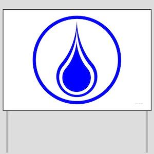 Waterbearer Yard Sign