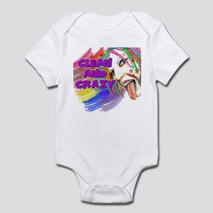 CLEAN AND CRAZY Infant Bodysuit