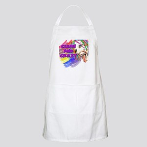 CLEAN AND CRAZY BBQ Apron