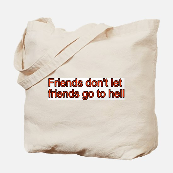 Christian Friend Tote Bag