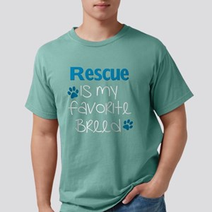Rescue is my Favorite Breed - Blue T-Shirt