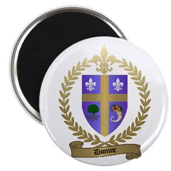 DIONNE Family Crest Magnet