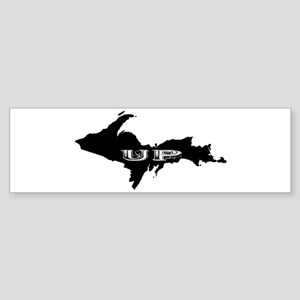 UP - Upper Peninsula Bumper Sticker