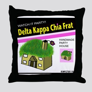 Delta Kappa Chia Pet Throw Pillow