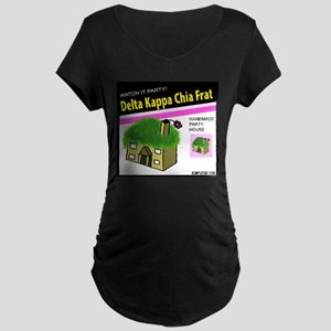 Delta Kappa Chia Pet Maternity Dark T-Shirt